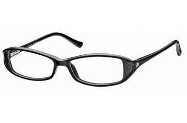 John Galliano JG5004 Eyeglass Frames - Black Frame Color