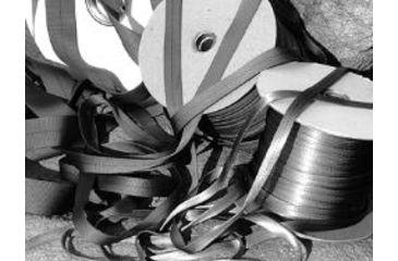 John Howard Company Tubular Webbing, Sage, 1x300 100285
