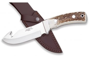 Joker Knives Skinner Knife Stag Horn 4.68in. Blade, 9.16in. Length. CC55USA