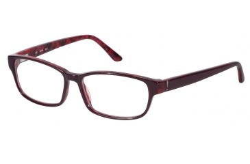 JOOP! 81050 Bifocal Prescription Eyeglasses - Violet Frame and Clear Lens 81050-6281BI