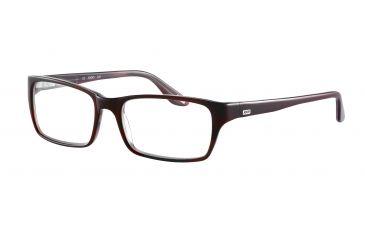 JOOP! 81055 Single Vision Prescription Eyeglasses - Red Frame and Clear Lens 81055-8028SV