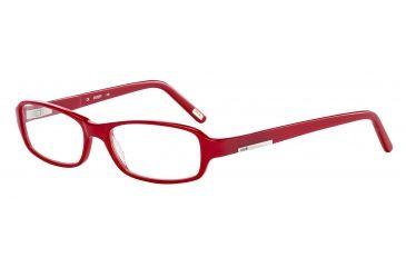 JOOP! 81059 Single Vision Prescription Eyeglasses - Red Frame and Clear Lens 81059-6401SV