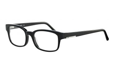 JOOP! 81061 Single Vision Prescription Eyeglasses - Black Frame and Clear Lens 81061-8840SV