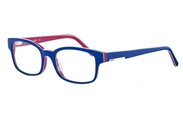 JOOP! 81061 Single Vision Prescription Eyeglasses - Blue Frame and Clear Lens 81061-6409SV