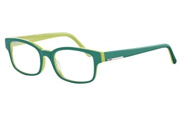 JOOP! 81061 Single Vision Prescription Eyeglasses - Blue Frame and Clear Lens 81061-6411SV