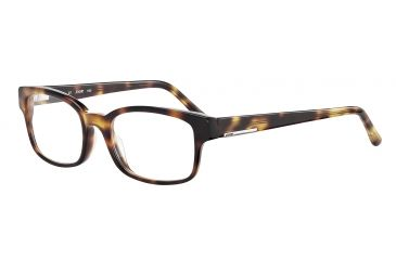 JOOP! 81061 Single Vision Prescription Eyeglasses - Brown Frame and Clear Lens 81061-6156SV