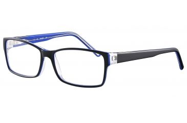 JOOP! 81069 Progressive Prescription Eyeglasses - Black Frame and Clear Lens 81069-6368PR