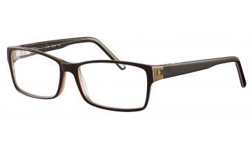 JOOP! 81069 Progressive Prescription Eyeglasses - Brown Frame and Clear Lens 81069-6172PR