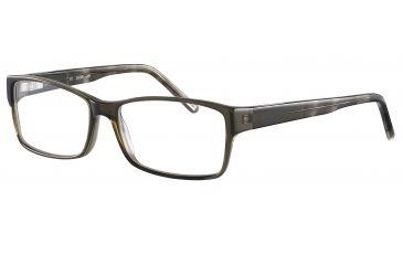 JOOP! 81069 Progressive Prescription Eyeglasses - Green Frame and Clear Lens 81069-6286PR