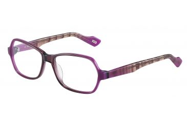 JOOP! 81082 Progressive Prescription Eyeglasses - Violet Frame and Clear Lens 81082-6637PR