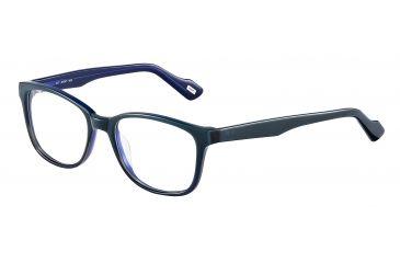 JOOP! 81083 Progressive Prescription Eyeglasses - Blue Frame and Clear Lens 81083-6634PR
