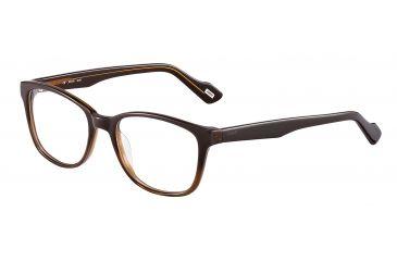 JOOP! 81083 Progressive Prescription Eyeglasses - Brown Frame and Clear Lens 81083-6636PR