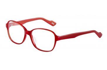 JOOP! 81084 Progressive Prescription Eyeglasses - Red Frame and Clear Lens 81084-6584PR