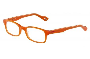 JOOP! 81088 Progressive Prescription Eyeglasses - Orange Frame and Clear Lens 81088-6650PR