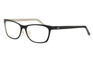 JOOP! 83165 Progressive Prescription Eyeglasses - Black Frame and Clear Lens 83165-848PR