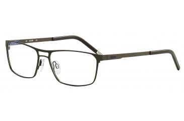 JOOP! 81050 Bifocal Prescription Eyeglasses - Black Frame and Clear Lens 81050-6368BI