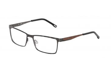 JOOP! 81067 Bifocal Prescription Eyeglasses - Black Frame and Clear Lens 81067-8840BI