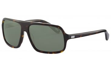 JOOP! 87144 Bifocal Prescription Sunglasses - Brown Frame and Grey Green Lens 87144-8940BI