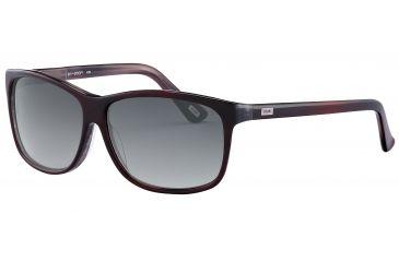 JOOP! 87145 Progressive Prescription Sunglasses - Red Frame and Grey Gradient Lens 87145-8028PR