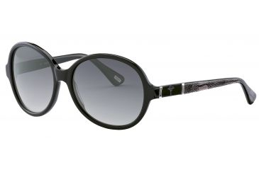 JOOP! 87147 Single Vision Prescription Sunglasses - Black Frame and Grey Gradient Lens 87147-8840SV