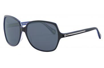 JOOP! 87149 Progressive Prescription Sunglasses - Black Frame and Grey Lens 87149-6368PR