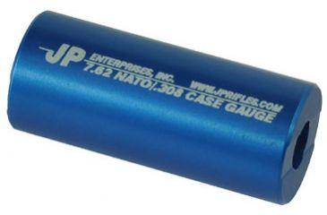 JP Enterprises Case Gauge Cut With Chamber Finish Reamer, 7.62 Nato/.308, Blue JPCG-308