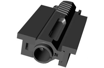 JP Enterprises Universal Vise Clamp For Ar Flat Top .223 And .308 Upper Receiver, Black JPVC