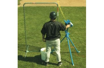 Jugs Sports 6ft. Quick-Snap Lite-Flite Softball Screen S1020