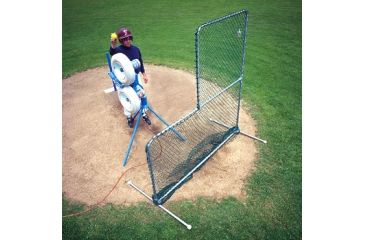 Jugs Sports 7-foot Quick-Snap L-Shaped Baseball Screen S2000