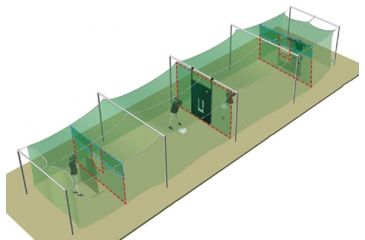 Jugs Sports Indoor Split-Cage Package For Softball A0310