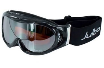 Julbo Astro Rx Insert Goggles - Black/White Frame, Cat 3 Orange/Flash Silver 71512140