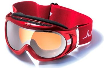 Julbo Astro Rx Insert Goggles - Red/Black Frame, Cat 3 Orange/Flash Silver 71512131