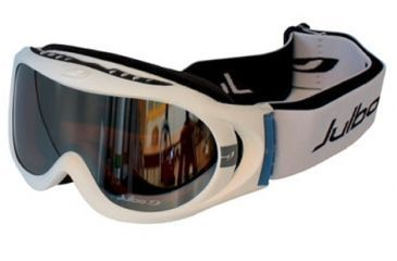 Julbo Astro Rx Insert Goggles - White/Black Frame, Cat 3 Orange 71512111