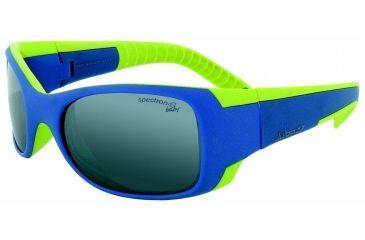 Julbo Booba Kids Sunglasses, Blue/Lime w/ Spectron 4 Baby Lenses 4352332