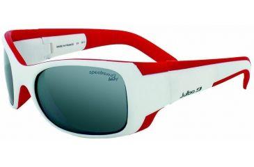 Julbo Booba Kids Sunglasses, White/Red w/ Spectron 4 Baby Lenses 4352311