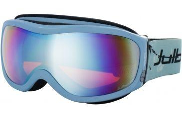 Julbo Cassiopee Rx Insert Goggles - Blue Frame, Cat 3 Flash Silver/Orange tint lens 70512120