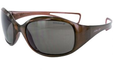Julbo Debora Kids Rx Sunglasses - Crystal Brown Frame, Polar Kids Ages 6-10 4089251