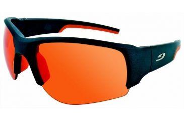 Julbo Dust  Sunglasses, Matt Anthracite/Orange w/ 3 Lens Set: Spec 3+/Spec 1/Clear Lenses 4330021