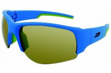 Julbo Dust  Sunglasses, Matt Blue/Green w/ Zebra Lenses 4333112