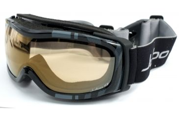 Julbo Eclipse Goggles with Zebra lens - Black 70131140