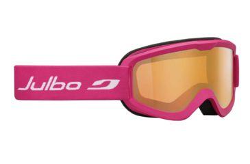 Julbo Eris Goggles, Fuschia w/Orange Cat 2 Double Cylindrical Lenses And A No Flash Treatment 72742182