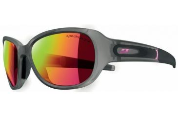 Julbo Fletchy Sunglasses, Grey w/ Multi Pink Spectron 3+ Lenses 4601121