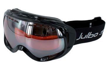 Julbo Jupiter OTG Goggles - Black Frame, Cat 3 Flash Silver/Orange tint lens 79412140