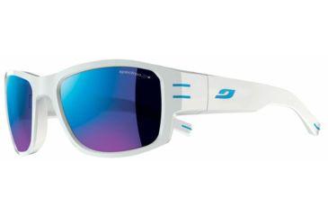 Julbo Kaizer Sunglasses, White/Blue w/ Spectron 3+ Lenses 4481111