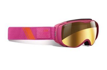 Julbo Luna Goggles, Fuschia w/Zebra Double Spherical Lenses And A Gold Flash Treatment 72831184