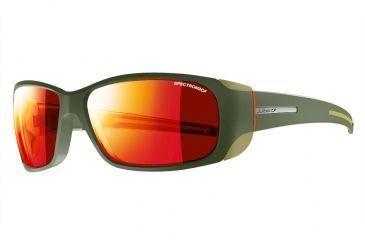 99d9c4c4b24ba7 Julbo Montebianco Sunglasses with Spectron 3CF Lenses, Army Orange, Large  J4151154