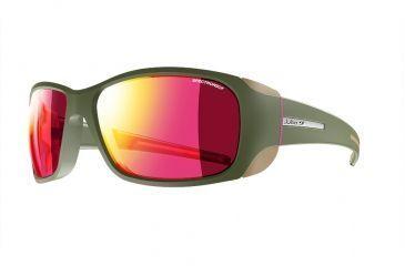 Julbo Monterosa Sunglasses with Spectron 3CF Lenses, Army Pink, Medium  J4011154 d5637b659bc6