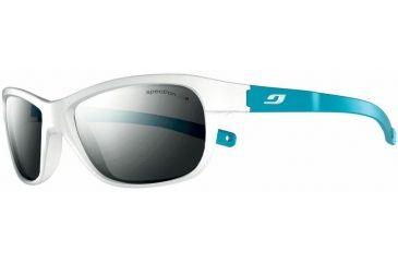 Julbo Player L Sunglasses, White/Blue w/ Spectron 3+ Lenses 4631111