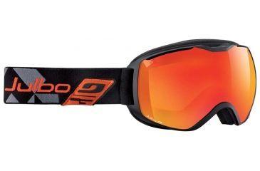 Julbo Quantum Goggles, Black/Orange w/Orange Cat 3 Double Spherical Lenses And A Multilayer Fire Flash Treatment 73712144
