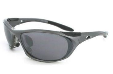 Julbo Race Sunglasses, Asphalt Frame, Polarized 3+ Lenses 242923